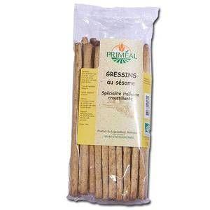 Priméal Gressins au sésame - 120 gr