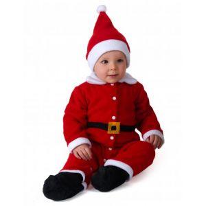 Déguisement Père Noël Bébé 6 À 12 Mois