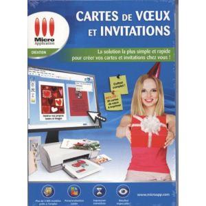 Invitations et cartes de Voeux [Windows]