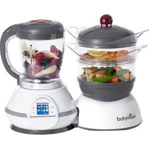 Babymoov Nutribaby - Robot cuiseur vapeur et mixeur