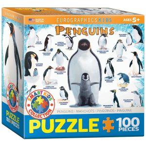 Eurographics Puzzle Pingouins 100 pièces
