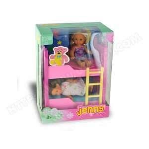 Jenny Poupée   Laura dans son lit superposé ee8fcf71dbd7