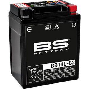 BS Battery Batterie BS BB14L-B2 sans entretien activée usine
