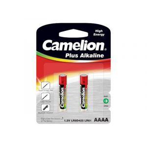 Camelion Pack de 2 piles Alcaline 1.5V AAAA