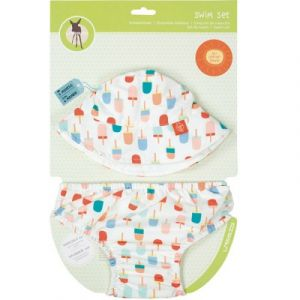 Lässig Set de bain anti-UV Splash & Fun glaces (18 mois)