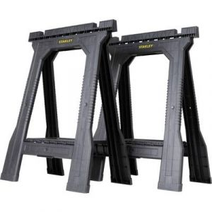 Stanley Lot de 2 tréteaux pliables Junior charge 362Kg