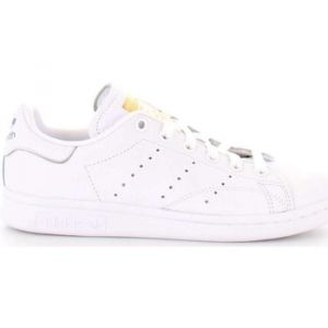 Adidas Stan Smith W, Chaussures de Running Femme, Multicolore (FTWR White/Real Lilac/Raw Gold S18 Cg6014), 40 2/3 EU
