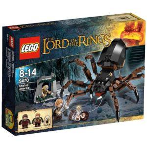 Lego 9470 - Le seigneur des anneaux : L'attaque d'Arachne