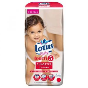 Lotus Baby Touch taille 5 (13-20 kg) - 36 couches