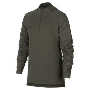 Nike Haut de football à manches longues Dri-FIT Squad Drill pour Garçon plus âgé - Kaki - Couleur Kaki - Taille XL