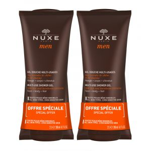 Nuxe Men gel douche Multi-Usages Duo