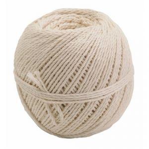 Corderie Mesnard Cordeau en coton câblé - pelote de 100 grammes - diamètre 2,5 mm