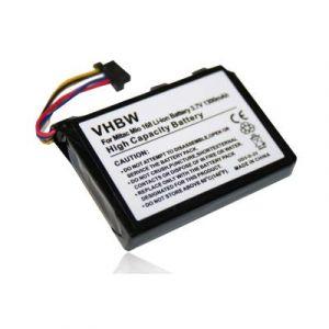 Vhbw Batterie compatible avec Mitac Mio 168, 169, 168 Plus, 168C, 168RS smartphone (1800mAh, 3,7V, Li-polymère)
