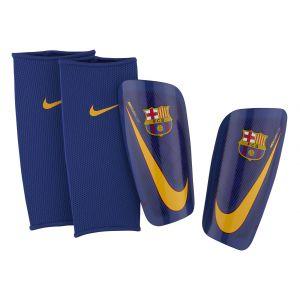 Nike FC Barcelone Protège-Tibias Mercurial Lite - Bleu Marine/Orange