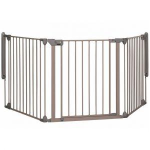 Safety 1st Barrière d'escalier Modular 3 gris clair
