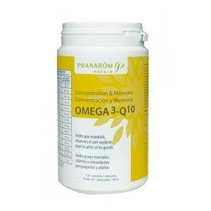 Pranarôm Capsules concentration et Mémoire 'Omega3' 120 capsules
