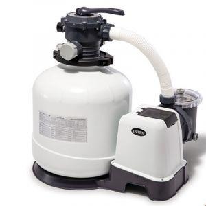 Intex Platine de filtration à sable Modèle - 10 m3/h (piscine jusqu?à 65 m3)