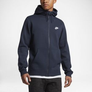 Nike Sweatà capuche Sportswear Club Fleece pour Homme - Bleu - Taille M - Homme