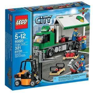 Lego 60020 - City : Le camion de marchandises