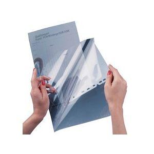 Durable 8552-19 - Boîte de 100 pochettes de présentation, pour rétroprojection