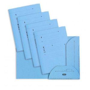 Elba 100090077 - Sous-dossier OAZ chemise HV 2 rabats, lot de 25, A4 kraft bleu clair