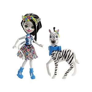 Mattel Enchantimals Balade Zoo Zèbre Zelena