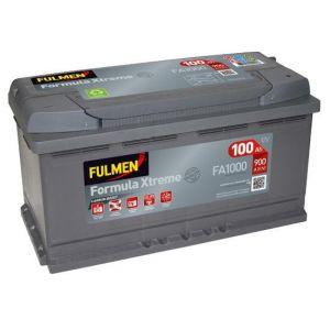 Fulmen Batterie auto XTREME FA1000 (+ droite) 12V 100AH 900A
