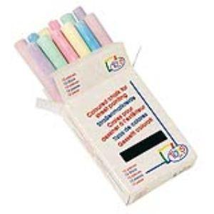 Toys Pure Boite de 12 craies de couleurs pour ardoise ou extérieur