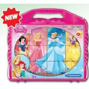 Clementoni Cubes Princesses 12 pièces