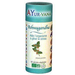 Ayur-Vana Ashwagandha bio - 60 gélules végétales