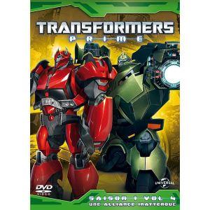 Transformers Prime - Saison 1 / Volume 4 : Une alliance inattendue