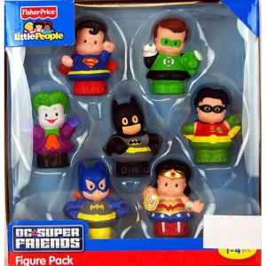 Fisher-Price Pack Little People DC Comics Super Friends