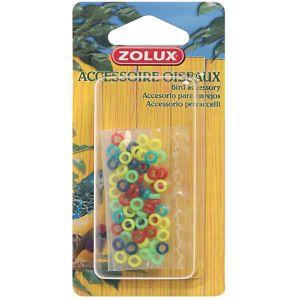 Zolux Bagues Plastiq.Can/Mandar X50