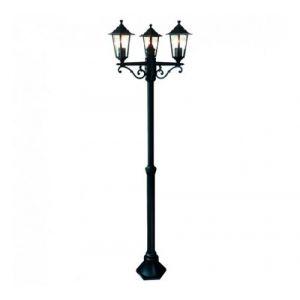 Brilliant AG Lampadaire extérieur CROWN noir 3x60W - BRILLIANT - 40288-06