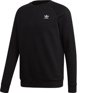 Adidas Essential Crew sweat Hommes noir T. S
