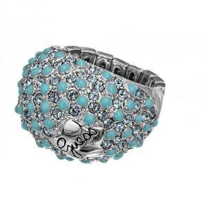Guess UBR41202 - Bague pour femme en métal argenté