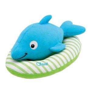 Chicco Jouet de bain : Dauphin vibrant nageur