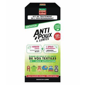Cinq sur Cinq Anti-poux et lentes - Kit de traitement de l'environnement