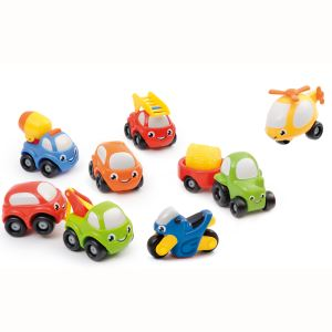 Smoby Coffret 8 véhicules Vroom Planet