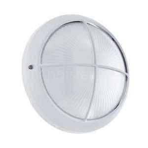 Eglo Applique murale SIONES 1 LED Blanc, 1 lumière - Classique - Extérieur - 1