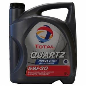 Total Huile Moteur 5W30 Quartz Ineo Ecs 5L