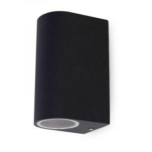 Vision-El Applique murale IP54 Gris anthracite double �clairage (max 2xGU10 7W led) - V
