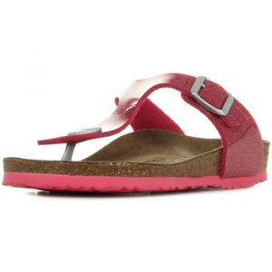 Birkenstock Gizeh, Tongs Fille, Rose (Noir Magic Galaxy Bright Rose), 32 EU