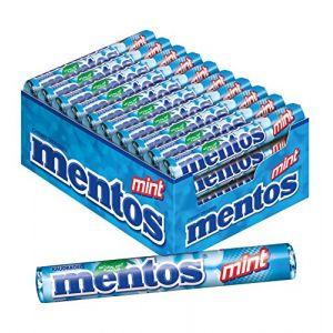 Mentos Boîte de 40 rouleaux Menthe