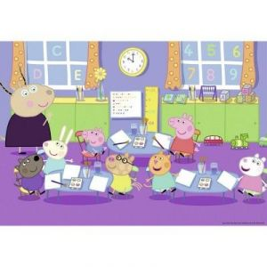 Ravensburger Puzzle Peppa Pig à l'école (2 x 24 pièces)