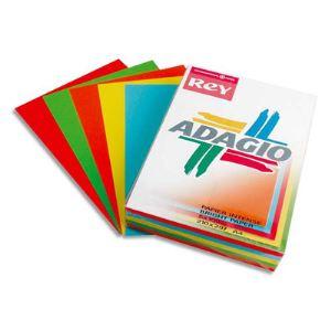 Rey Ramette de 40 feuilles Adagio A4 coloris assortis 80g