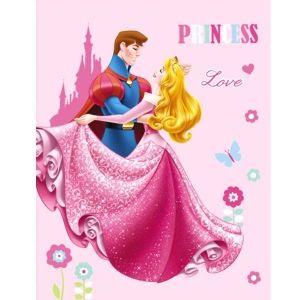 Plaid polaire Disney Princess (110 x 140 cm)