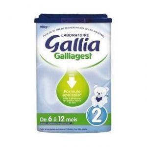 Gallia Lait Galliagest 2ème âge 900g - de 6 à 12 mois