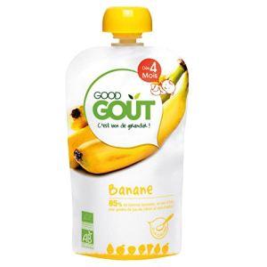Good Goût Gourde de fruit : Banane 120 g - dès 4 mois