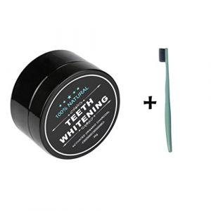 Lonupazz Poudre de blanchiment des dents au charbon actif naturel